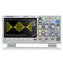 Digital oscilloscope / bench-top / 2-channel / with LCD display