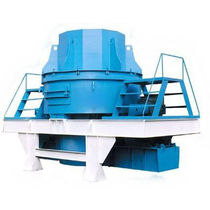 Vertical-shaft impact crusher / stationary