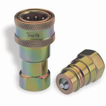 Steel quick coupling / hydraulic