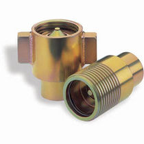 Threaded quick coupling / stainless steel / hydraulic / high-pressure