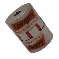 Torsionally elastic coupling / elastomer / jaw / for shafts