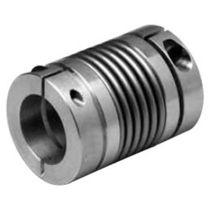 Torsionally rigid coupling / bellows / metal / sleeve