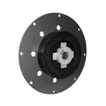 Torsionally rigid coupling / rubber / flywheel / flange