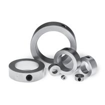 Shaft collar coupling / motor / stainless steel / zinc-plated steel
