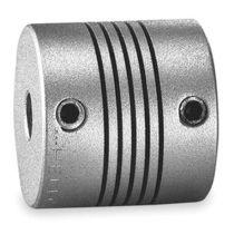 Spriral coupling / aluminum / misalignment correction / zero-backlash