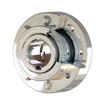 Gear coupling / misalignment correction / flange