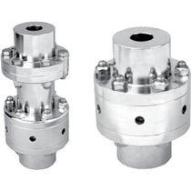 Rigid coupling / pump / steel / stainless steel