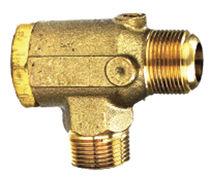 Poppet check valve / copper