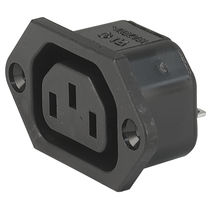 Electrical power supply connector / type C13