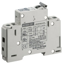Thermal-magnetic circuit breaker / AC / DC / manual reset
