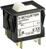 Thermal circuit breaker / tripolar / automatic / rocker switch type