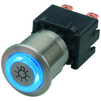 2-pole push-button switch / latching action