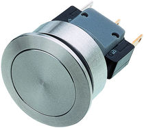 Single-pole push-button switch / snap-action / waterproof