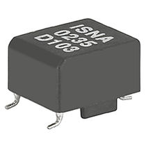 Pulse transformer / encapsulated / AC / for printed circuit boards