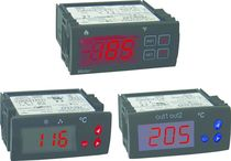 Digital temperature indicator / panel-mount