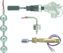 Magnetic float level switch / for liquids