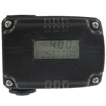 Position indicator / digital / panel-mount / for valves