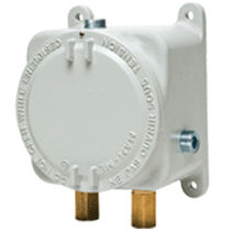 Differential pressure switch / for gas / explosion-proof