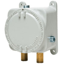 Differential pressure switch / for air / explosion-proof / adjustable