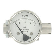 Differential pressure flow meter / orifice / for air / in-line