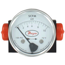Variable-area flow meter / for gas / in-line