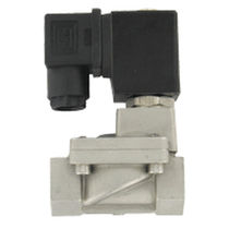 Internally-piloted solenoid valve / 2-way