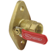Ball valve / lever / brass