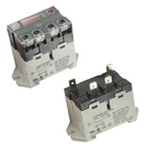 Power electromechanical relay / DIN rail / panel-mount