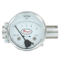 Variable-area flow meter / for air / in-line
