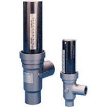 Variable-area flow meter / for liquids / metal tube / in metering tube