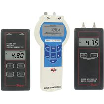 Digital pressure gauge / electronic / portable