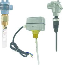 Paddle flow switch / for water / insertion