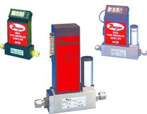 Mass flow meter / thermal / for gas / in-line