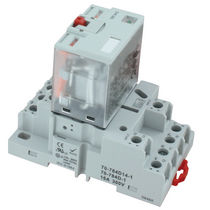 DIN rail electromechanical relay