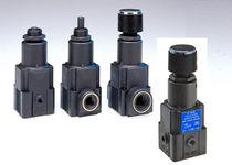 Air pressure regulator / single-stage / membrane / precision
