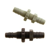 Barbed fitting / straight / pneumatic / polypropylene