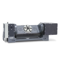 Motor-driven rotary table / tilting / for milling / CNC