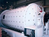 Ball mill / horizontal / stone