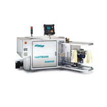 Bulk material packing machine / for the food industry
