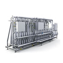 Membrane ultra-filtration unit / for water / stainless steel
