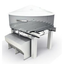 Liquid separator / for solids / for the food industry / process