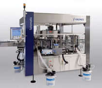 Automatic labeler / cold-glue / for bottles / rotary