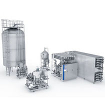 Liquid/liquid heat exchanger / gas/liquid / sterile / for the food and beverage industry
