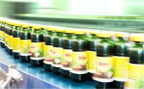 Belt conveyor / for plastic bottles / accumulation / horizontal