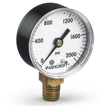 Pressure gauge / Bourdon tube / analog / process / rugged