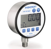 Electronic pressure gauge / digital / portable / trial