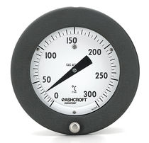 Dial thermometer / gas / built-in / high-temperature
