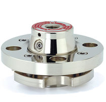 Diaphragm seal with flange connection / for pressure gauges / chemical process / petrochemical