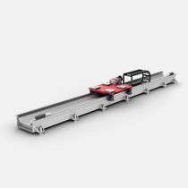 Rack-and-pinion linear axis / for robots / for the automobile industry
