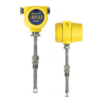Thermal flow meter / mass / for compressed air / for gas